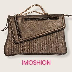 Fun Bronze IMOSHION clutch or handbag